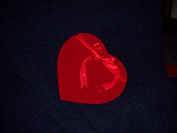Valentine Chocolate 24 piece RED Velvet Heart