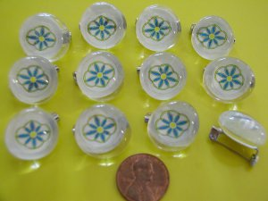 12 Daisy Scout Stones - Scouts SWAPS for girls