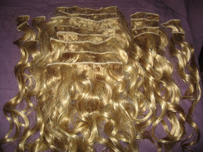 Hair U Wear Synthetic Hair Extensions (Ginger Blonde-color)