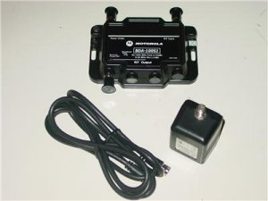 Motorola Broadband Drop Amplifier Signal Booster /w Power Adapter & Coaxial Cable  / Free Shipping