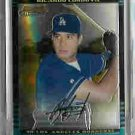 Ricardo Cordova Los Angeles Dodgers 2002 Bowman Chrome Uncirculated Rookie Card