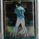 Jesus Medrano Florida Marlins 2002 Bowman Chrome Uncirculated Rookie Card