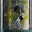 Shayne Wright Los Angeles Angels of Anaheim 2002 Bowman Chrome Uncirculated Rookie Card