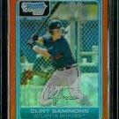Dale Thayer San Diego Padres 2006 Bowman Chrome Orange Refractor RC SN#/25 BC34