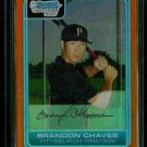 Brandon Chaves Pittsburgh Pirates 2006 Bowman Chrome Orange Refractor RC SN#/25 BC108