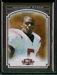 Reggie Bush New Orleans Saints 2006 Donruss Threads College Gridiron Kings Framed Red SN#/100