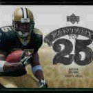 Reggie Bush New Orleans Saints 2006 Upper Deck Fantasy Top 25