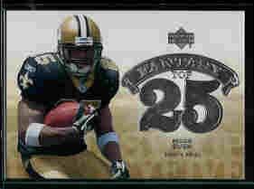 Reggie Bush New Orleans Saints 2006 Upper Deck Fantasy Top 25