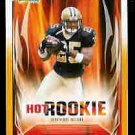 Reggie Bush New Orleans Saints 2006 Score Hot Rookie Gold Card SN# /600