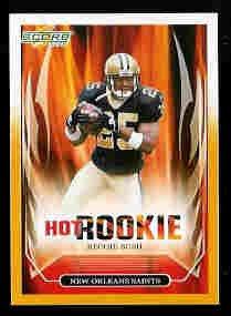 Reggie Bush New Orleans Saints 2006 Score Hot Rookie Gold Card SN# /600