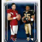 Reggie Bush New Orleans Saints Matt Leinart Arizona Cardianals USC Teamates 2006 Scorecard SN# /750