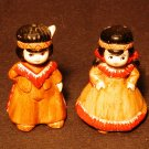 American Indian Boy & Girl Salt & Pepper Shaker