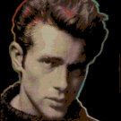 Cross Stitch Pattern  James Dean Portrait Original
