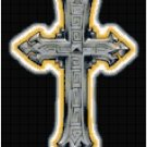 Counted Cross Stitch Original Pattern - Gothic Cross
