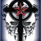 Gothic Cross with Skulls Original Cross Stitch Pattern