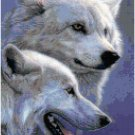 Snow Wolves Original Cross Stitch Pattern