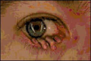 CrossStitch Pattern Hand Eye Coordination