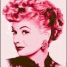 Original Cross Stitch Pattern - I Love Lucy