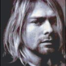 Kurt Cobain Cross Stitch Pattern Portrait