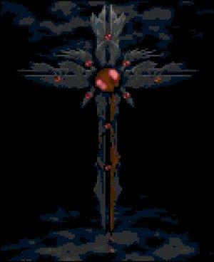 Medieval Cross Original Cross Stitch Pattern