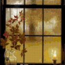 Counted Cross Stitch Pattern - Autumn Window