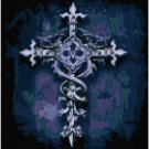 Gothic Cross of Hope Original Cross Stitch PatternGothic Cross of Hope Original Cross Stitch Pattern