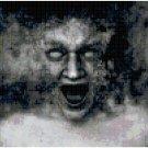 Spooky Face Original Cross Stitch Pattern