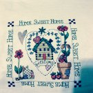 HOME SWEET HOME Finished Sampler