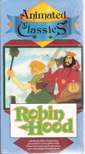 Animated Classics Robin Hood (VHS) **Brand New**