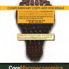 Coremacroeconomics / 2nd edition Gerald Stone, COMPLIMENTARY COPY