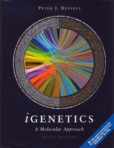 NEW - iGenetics: A Molecular Approach 3rd INSTRUCTOR'S EDITION Russell third 3e