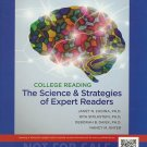 NEW -College Reading: The Science and Strategies of Expert Readers ANNOTATED INS