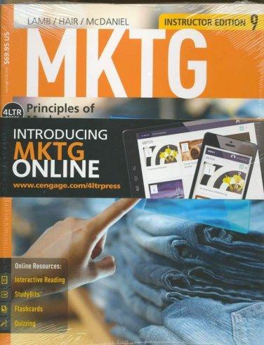 NEW - MKTG 9 INSTRUCTOR'S EDITION 9781285860169 (student) /9781285869308 (instr)