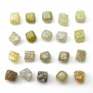 10+ Carats 0.40-0.60 per carat ROUGH DIAMOND CUBES