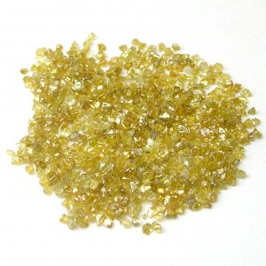 10+ Carats Vivid Orange/ Yellow Rough Diamonds