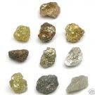 10+ Carat Natural Uncut Rough Diamond Diamonds 1/1