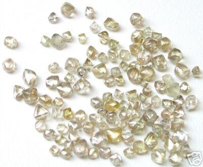 10+ Carats Uncut BROWN Natural Uncut Raw ROUGH DIAMONDS