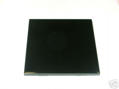"4"" x 4"" Black Ceramic Tile"