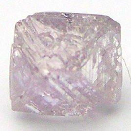 0.34 Carats GEMY PINK OCTAHEDRON Uncut ROUGH DIAMONDS