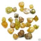 10+ Carat Natural FANCY COLORS Raw Uncut Rough Diamonds