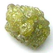4.27 Carats Natural GREEN ROUGH DIAMONDS Gem Treasures
