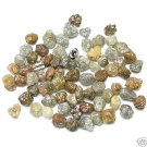 50+ Carats Natural Uncut Rough Raw Diamonds 1/2-1/1