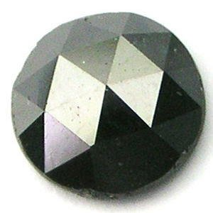 6mm CALIBRATED BLACK ROUND ROSE CUT POLISHED DIAMONDS