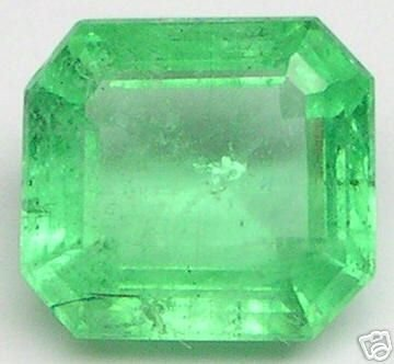 2.81 Carats Polished Emerald Cut EMERALDS BERYL