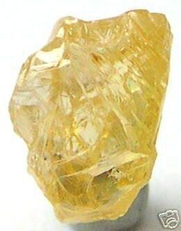 0.64 Carat Fancy Orange Natural Uncut Rough Diamonds
