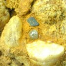 Uncut Natural BALLAS ROUGH DIAMONDS in SEDEMENT MATRIX