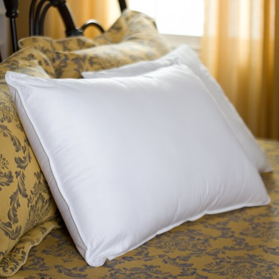 600TC Pillow Pair 100% Egyptian Cotton White Color