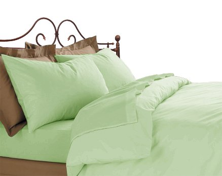 600TC Pillows 100% Egyptian Cotton Sage Color
