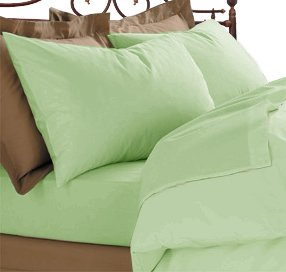 800tc Pillowcases Sage Ultra Pure 100% Egyptian Cotton Pillow Covers