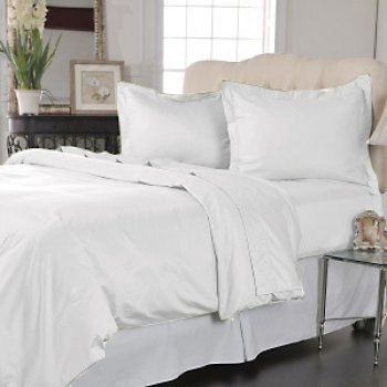 400tc queen size flat sheet 100% Egyptian cotton